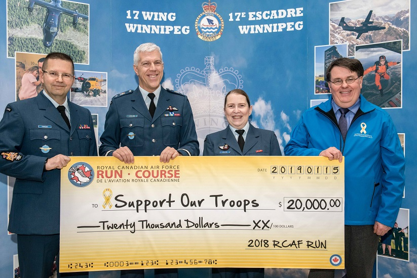 Merci à la Course de l'Aviation royale canadienne (ARC)